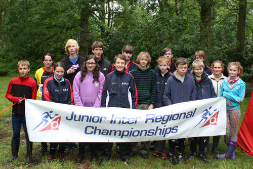 The Junior Squad at JIRC 2012.